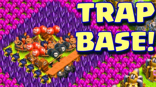 Clash of clans worlds worst base layout trap base 1 million clash of clans worlds worst base layout trap base 1 million resources stolen publicscrutiny Image collections