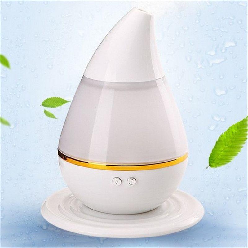 Water Drop Air Humidifier USB Ultrasonic Humidifier LED