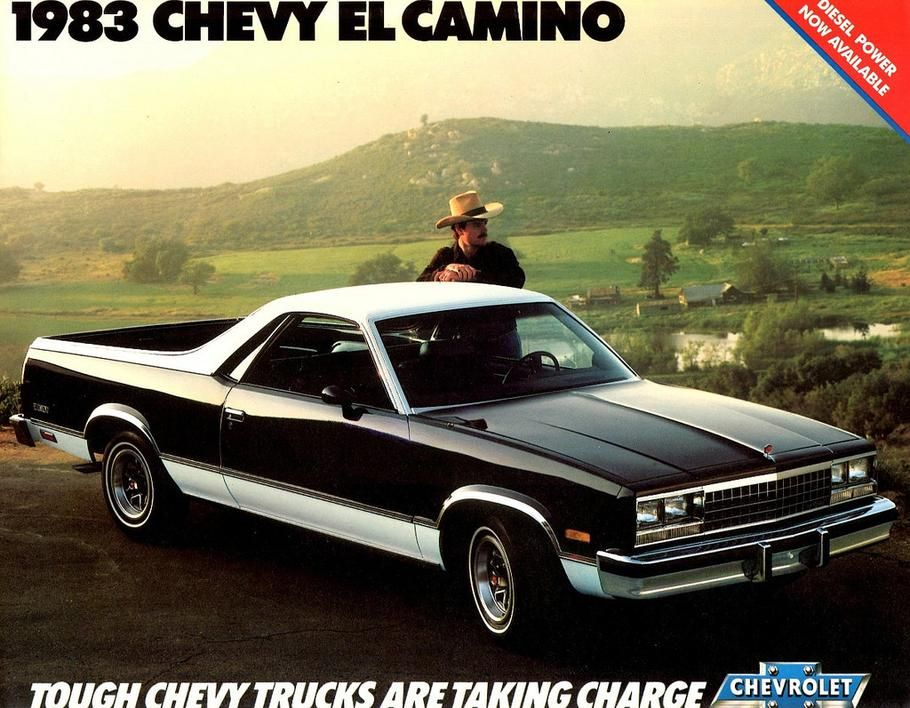 4 Vintage Ads Of The Chevrolet El Camino Chevrolet El Camino El
