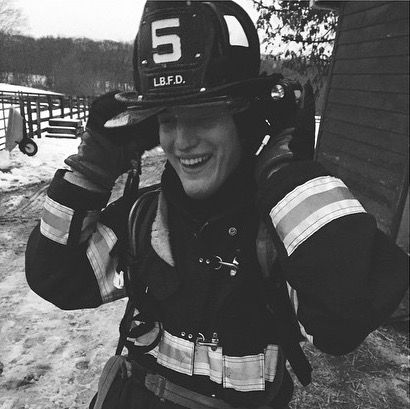 Sam to the rescue. Another day on the farm. Long Branch Fire Department @emilieee_winterrr | Bruce springsteen, E street band, Rock and roll