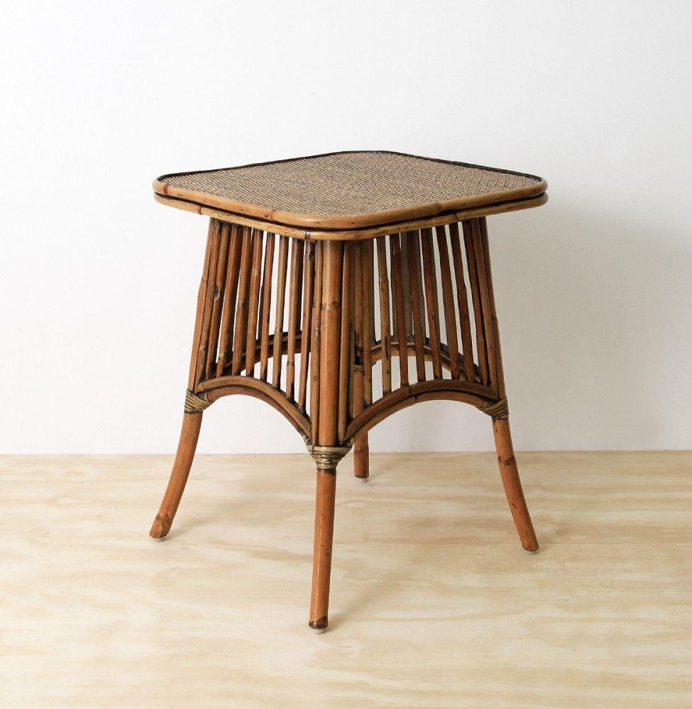 Hampton side table naturallycane rattan and wicker