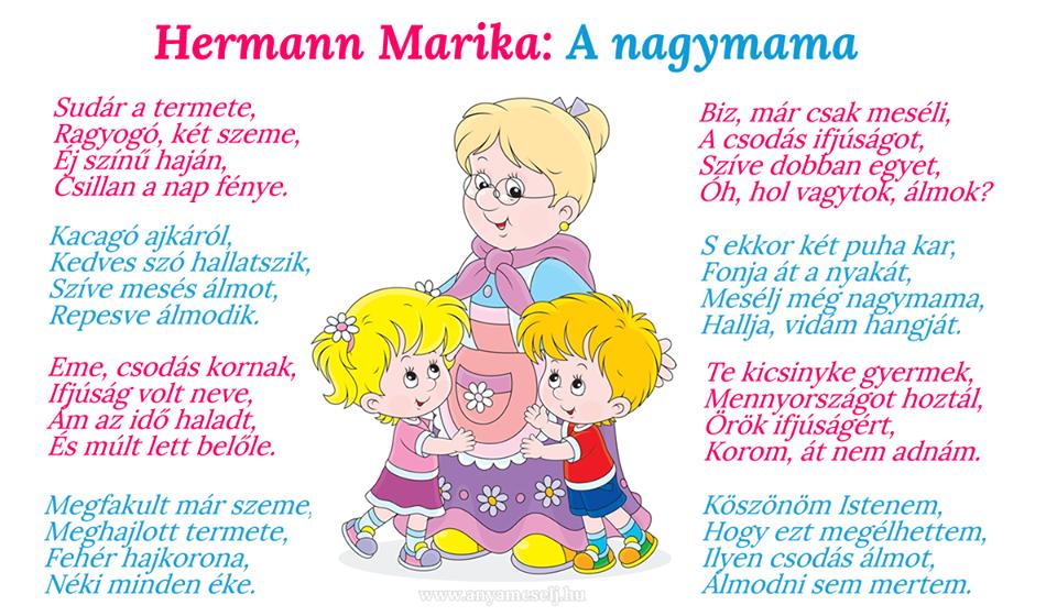 30e48f9dd9 Pin szerzője: AnyaMesélj.hu, közzétéve itt: Versek óvodásoknak és ...