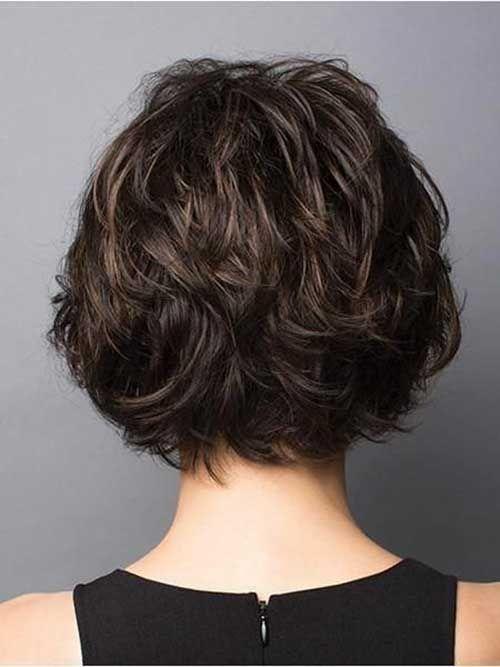 30+ Rückansicht der Kurzhaarschnitte #curlshorthair