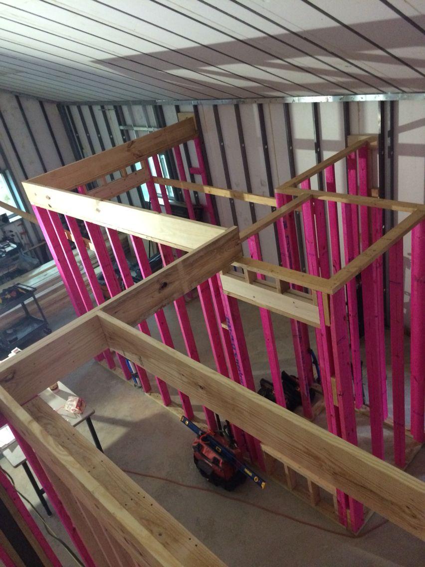 Ceiling joist Steel house, House, Home