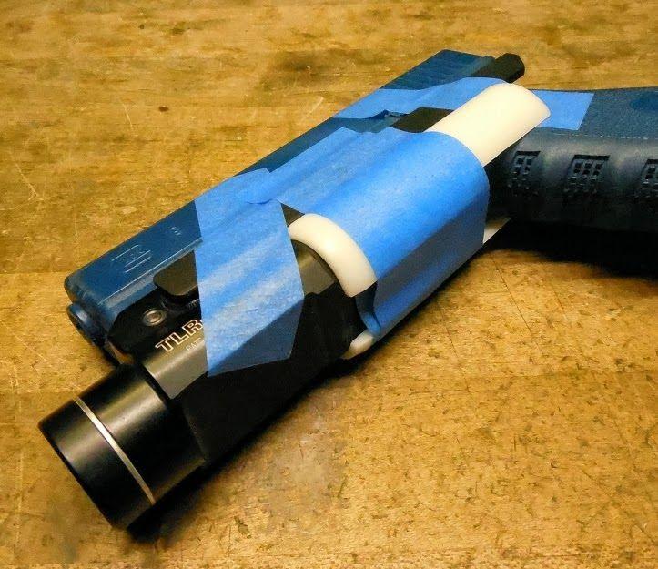 Diy holster tips tricks blocking out pistol molds for