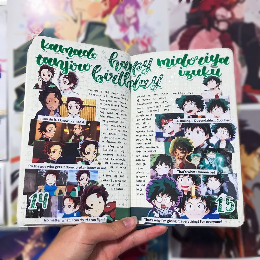 Pin By Hanako Kun On Cuadernos Con Disenos Bullet Journal Books Journal Book Design Anime Book
