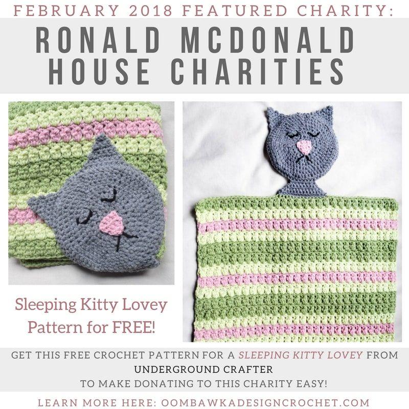 February 2018 Featured Charity: Ronald McDonald House. | #CROCHET ...
