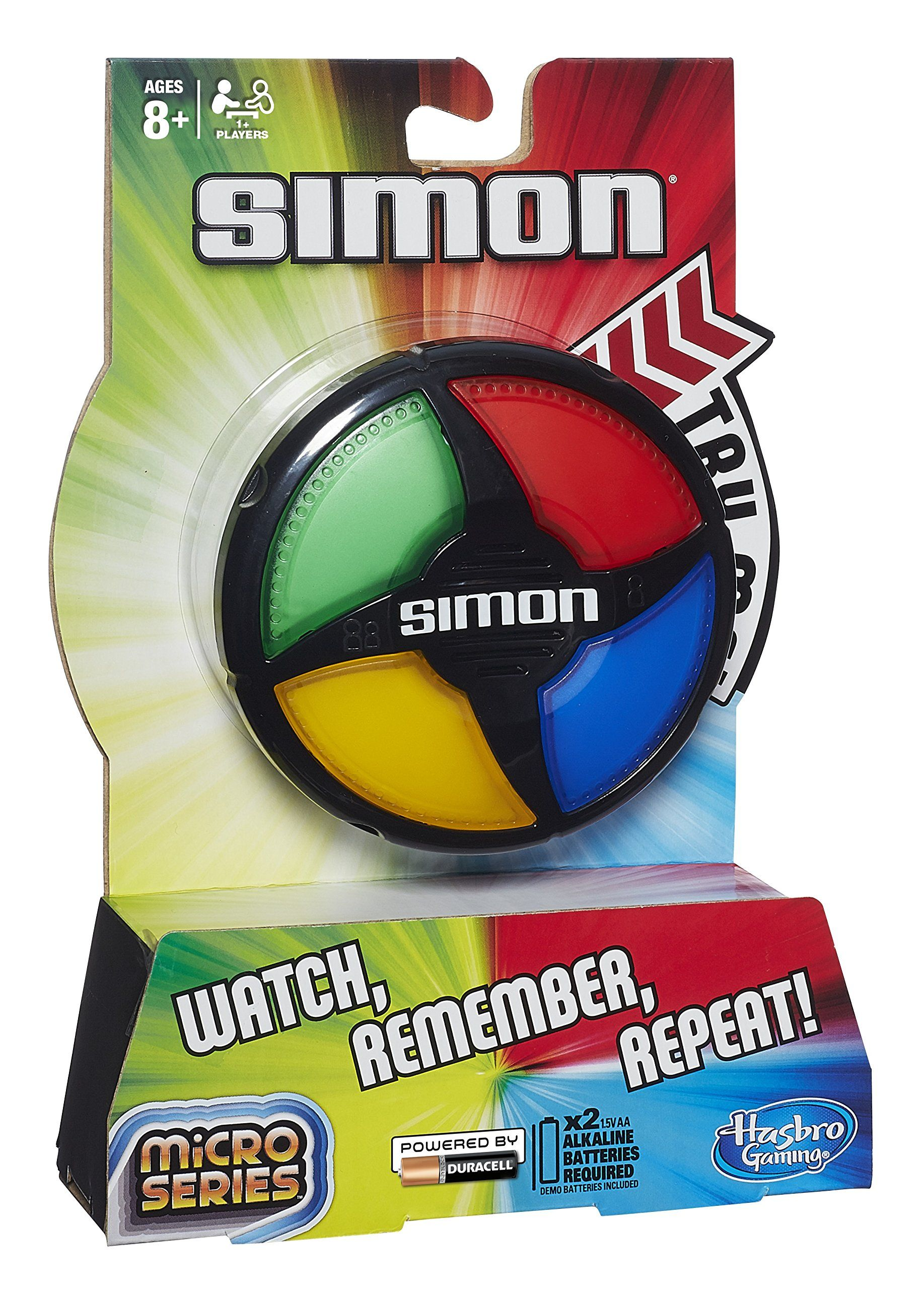 Hasbro Gaming Simon Micro Series Juego De Mesa B0640 Amazon Es