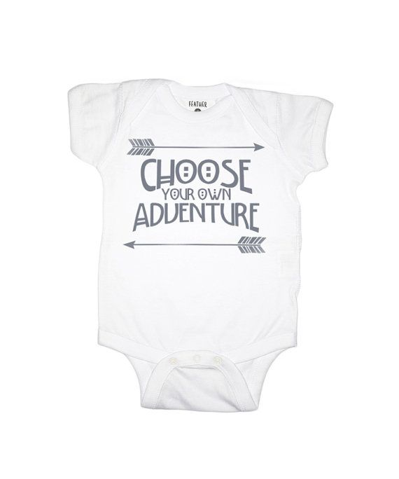Choose Your Own Adventure Baby One Piece by