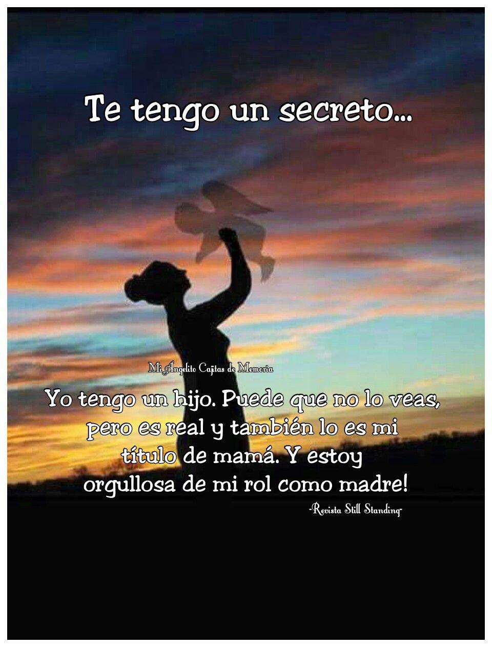 Te Tengo Un Secreto Angel Bebe Pérdida De Un Bebé Y Te