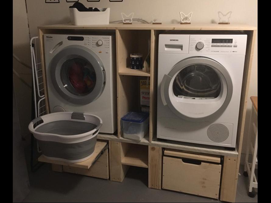 10++ Trockner auf waschmaschine schrank Trends