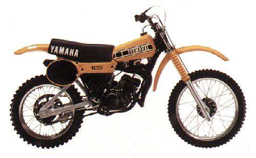 Yamaha Yz 125f Vintage Motocross Classic Bikes Vintage Bikes