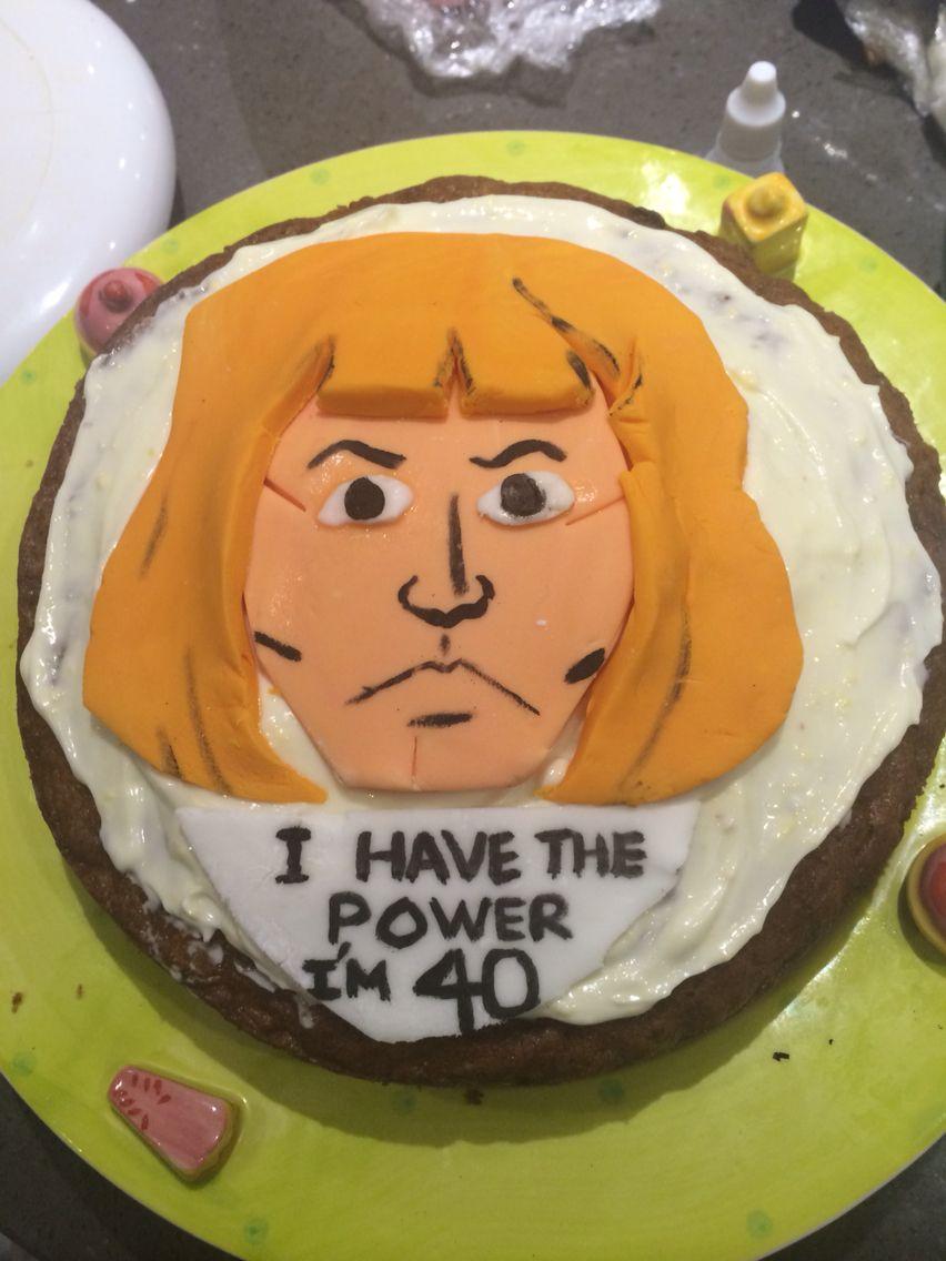 Heman Birthday Cake