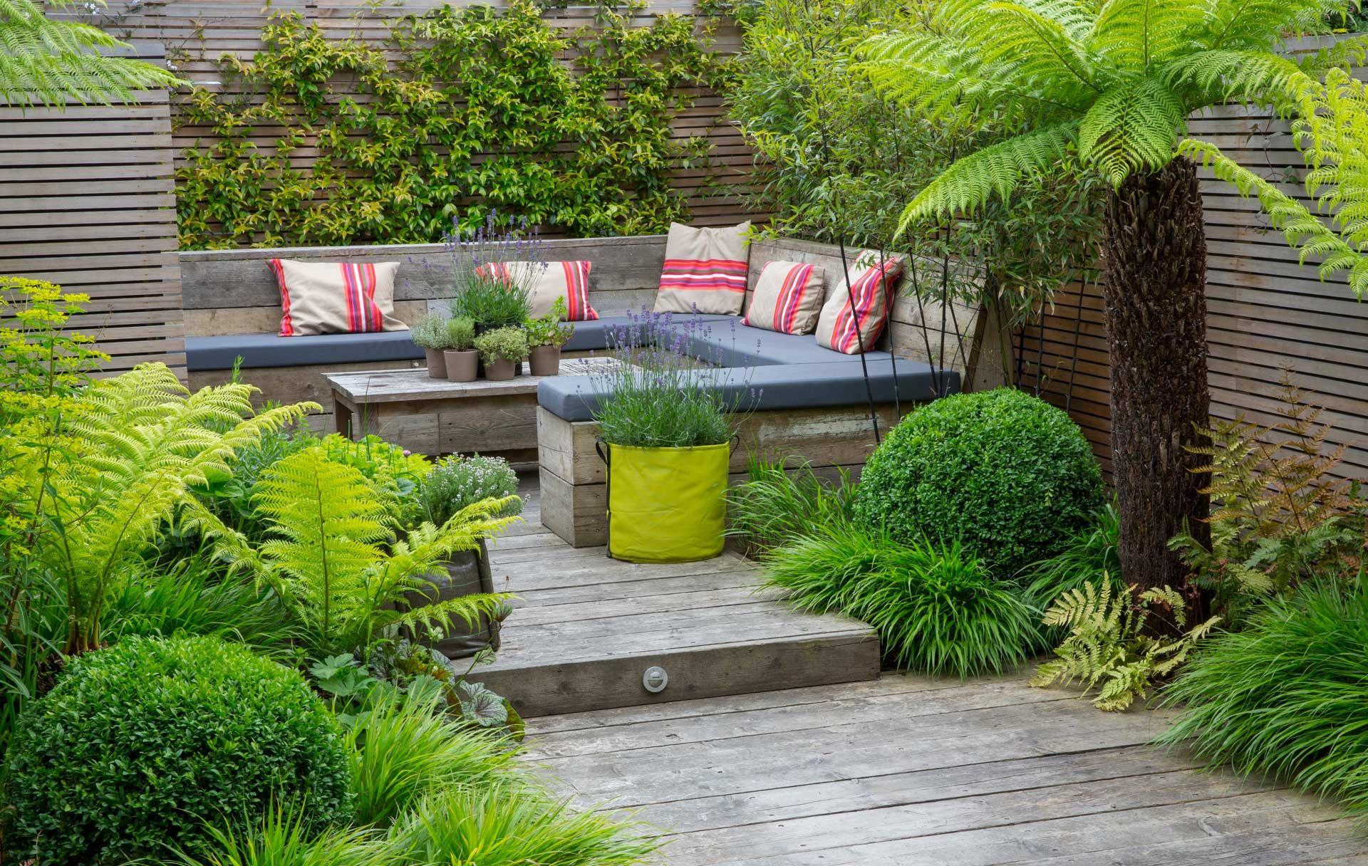 Richmond  Oasis - Garden Club London  Urban garden design
