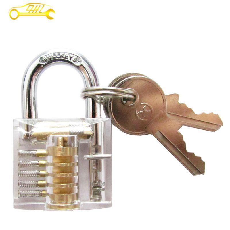 Cutaway Clear Lock Picking Practice Padlock