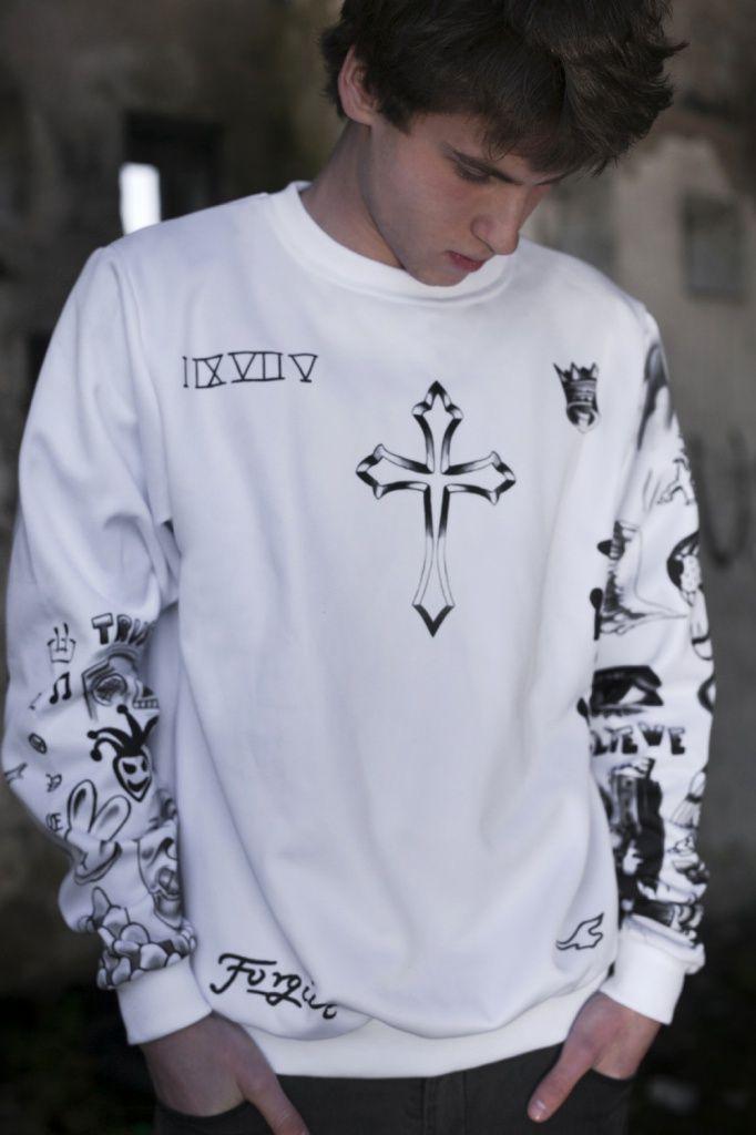 Justin Bieber Tattoos Sweatshirt