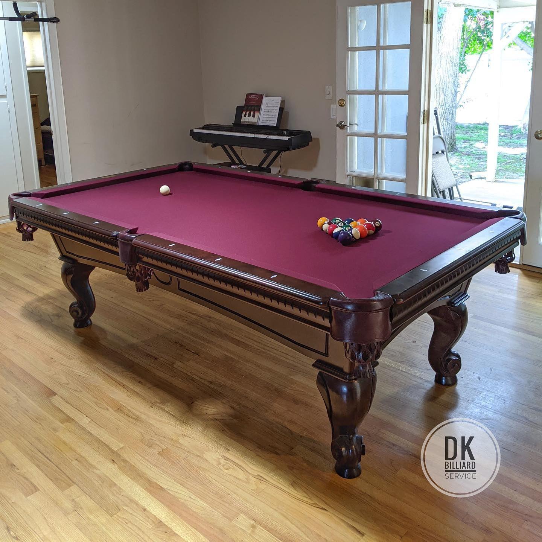 Championship Invitational 8-Feet Dark Green Pool Table Felt