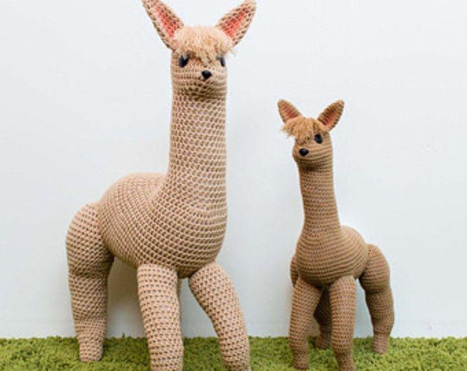 Alpaca Amigurumi Patron Gratis : Crochet alpaca pattern amigurumi pattern crochet toy pattern