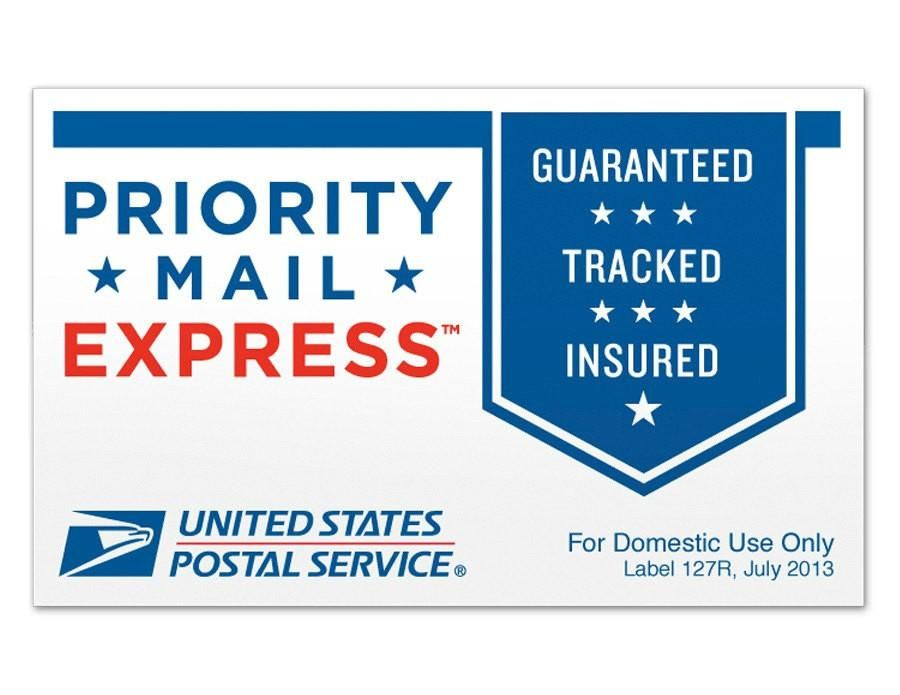 Priority Mail Express U S Destinations Only 1 2 Day Shipping