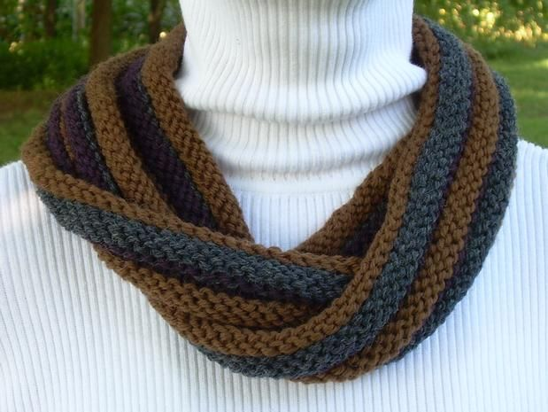 About Face Double Twist Scarf Knitting Patterns And Crochet