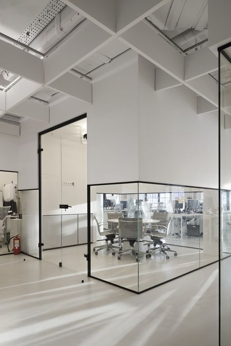 Gallery of rambler  co software dept nefa architects office interior design also the conceptual boldness immi  shanghai flagship store jaw rh pinterest
