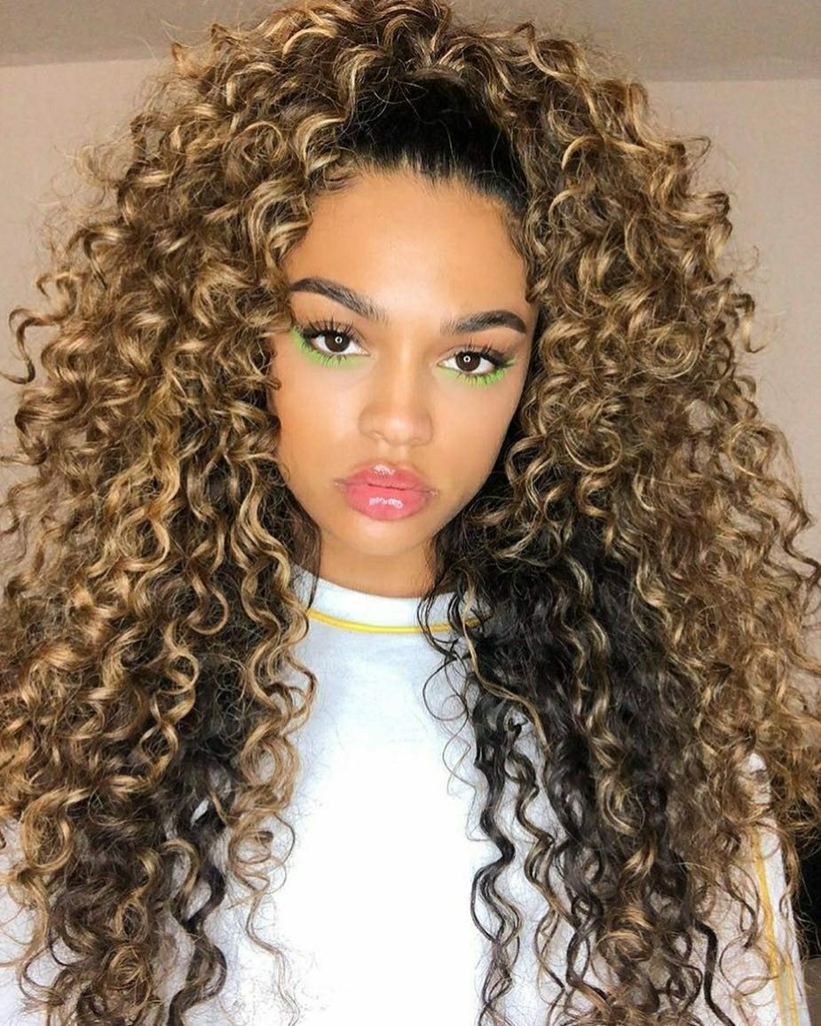 Curls For Days With Images Curly Hair Styles Colored Curly