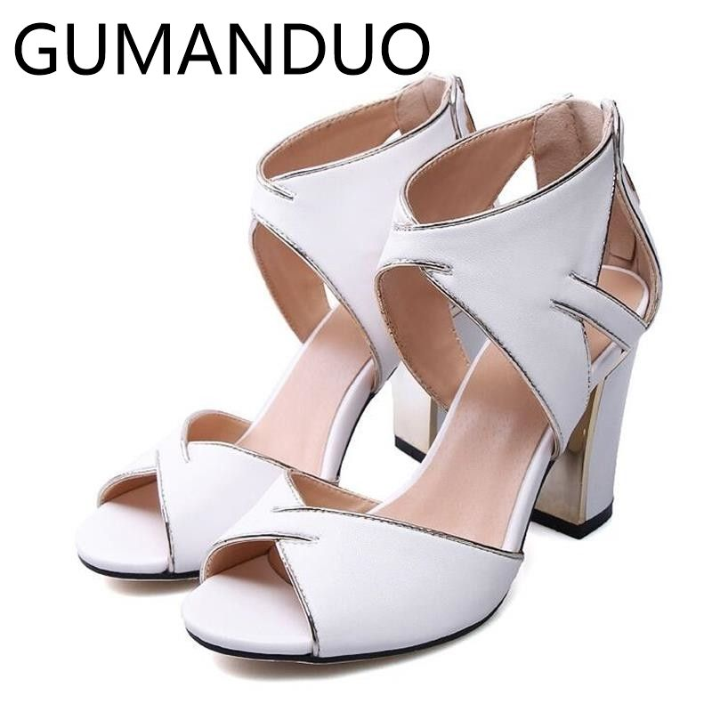 43d9300478234d Find this Pin and more on Wholesale. New 2017 Summer Square High Heels  Women Shoes Open Toe Sandals ...
