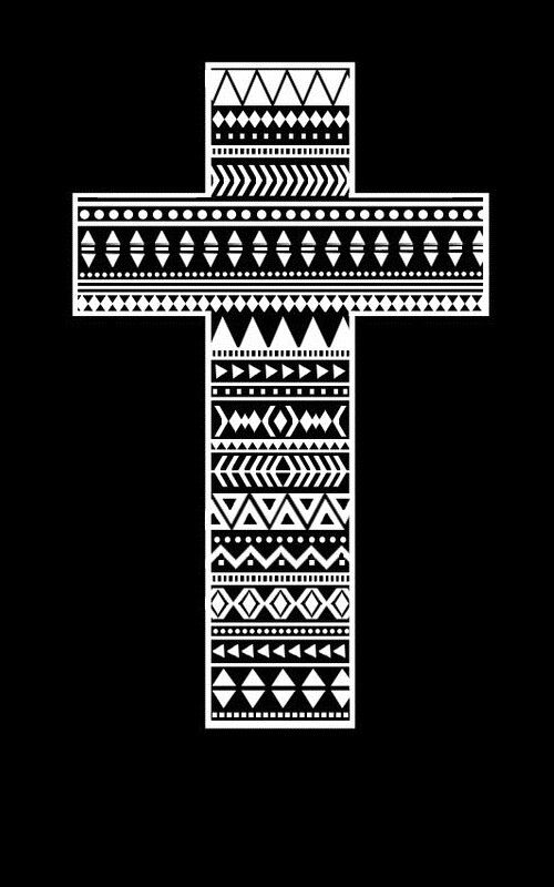 tribal cross wallpaper by - photo #38