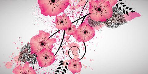 Sweet flowers banner
