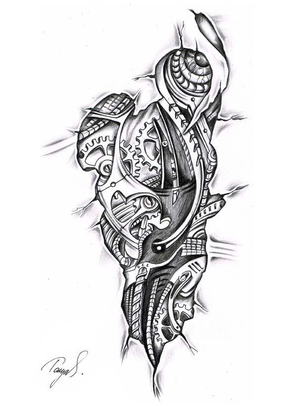 resultado de imagen para tattoo skizzen biomechanik tatuajes pinterest tattoo skizzen. Black Bedroom Furniture Sets. Home Design Ideas