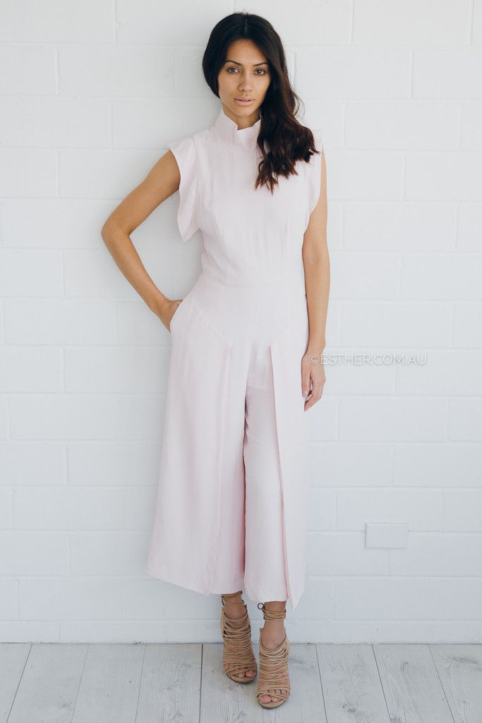 096d64ad3a finders keepers evolution jumpsuit - light pink