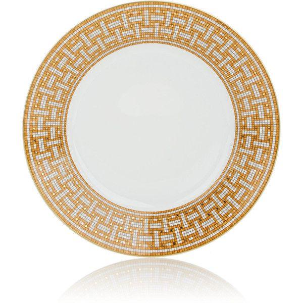 Hermès Mosaïque Au 24 Dinner Plate (3.315.340 IDR) ❤ liked on Polyvore  sc 1 st  Pinterest & Hermès Mosaïque Au 24 Dinner Plate (3.315.340 IDR) ❤ liked on ...