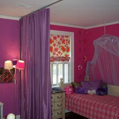 Dorm Room Curtain Divider