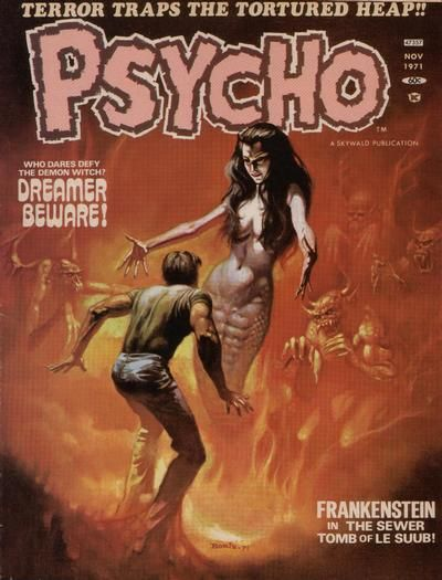 Cover for Psycho (1971 series) #5