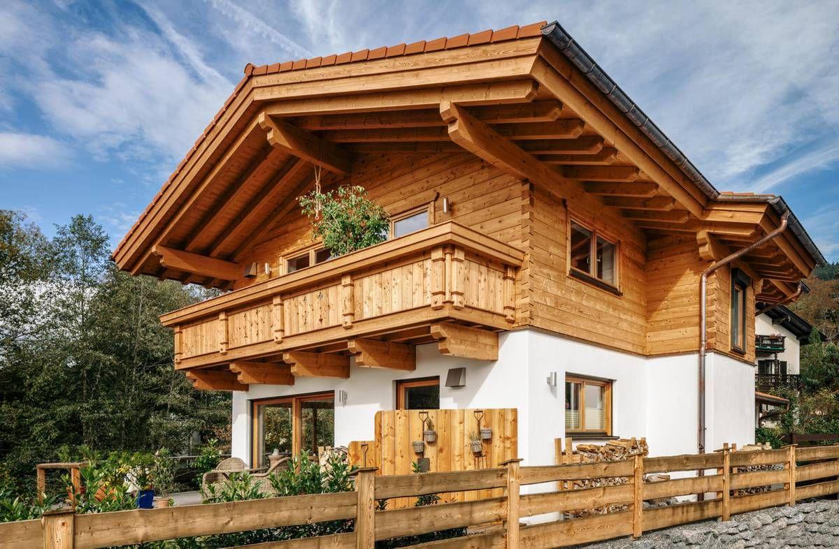Tiroler Holzhaus Haus, Altholz haus, Holzhaus