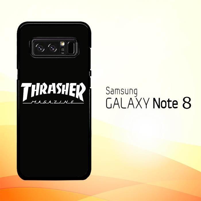 Thrasher Magazine Skate Z4741 Samsung Galaxy Note 8 Case