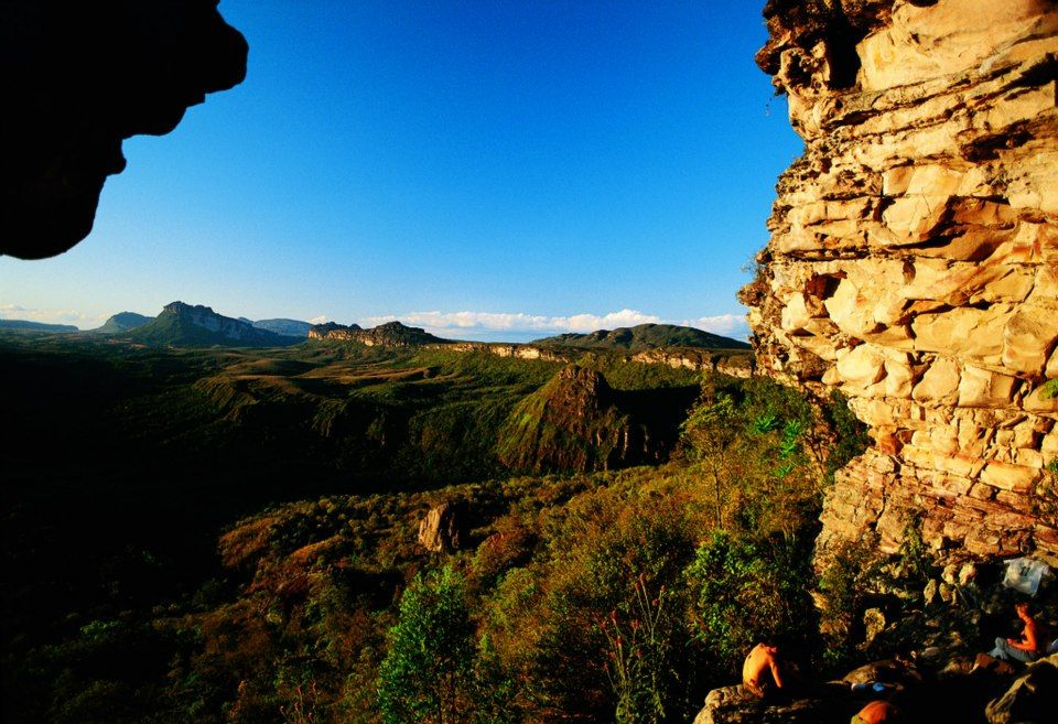 Lençóis (BA) - Vista do Morro do Castelo, na Chapada Diamantina. Foto: Editora Peixes  http://italianobrasileiro.blogspot.com/