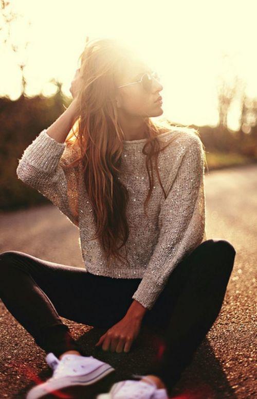 Tips para poder usar prendas con glitter durante el día