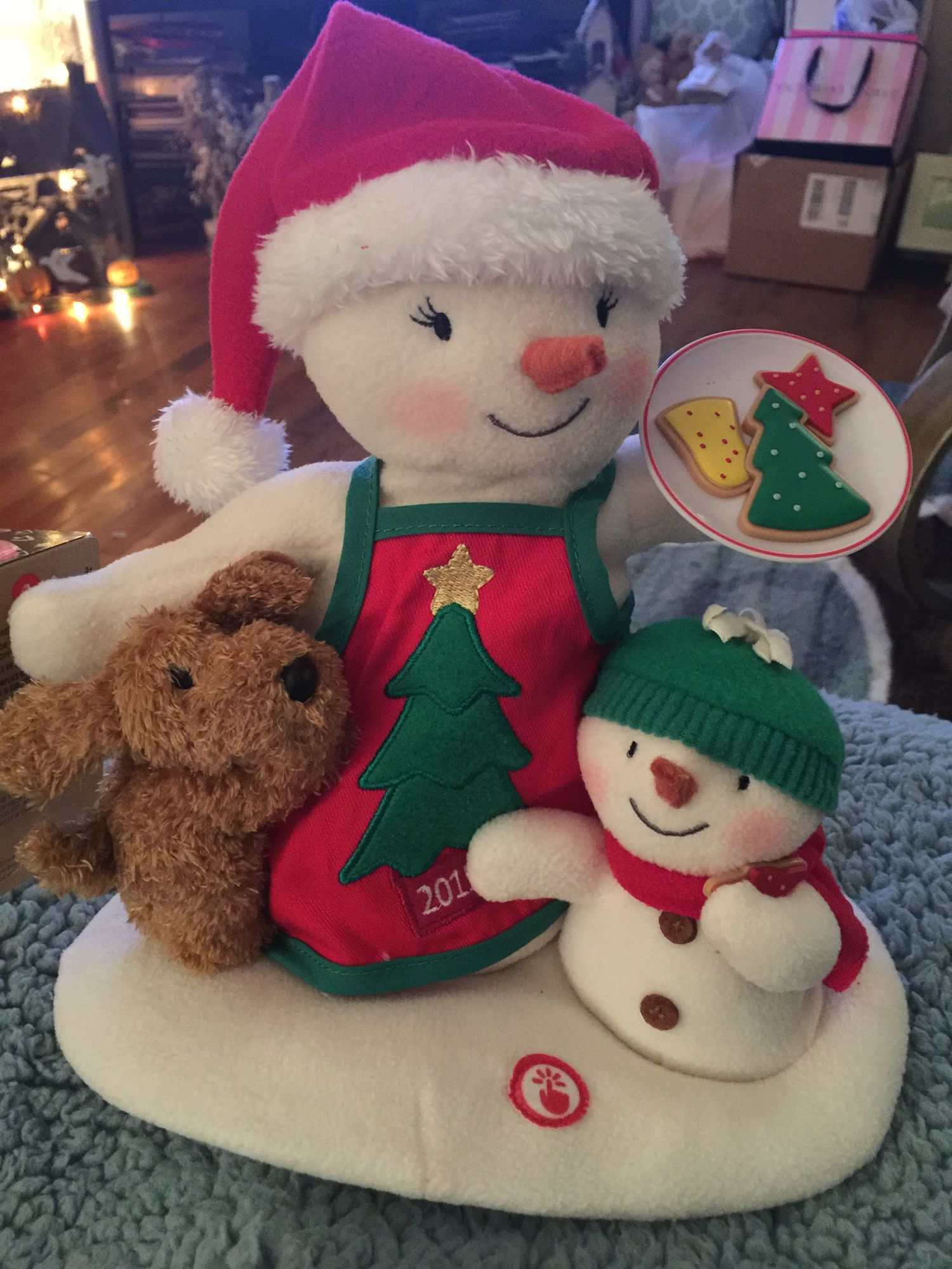 The Snowmen 12th In The Series Hallmark Ornaments Collectibles