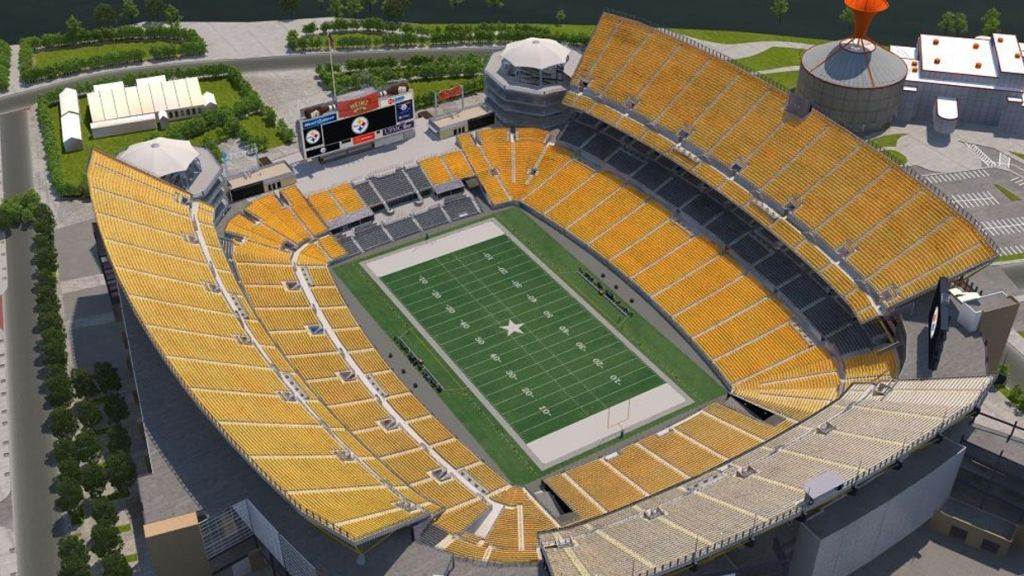 The Elegant And Also Stunning Heinz Field Virtual Seating Chart Seating Charts Heinz Field Seating