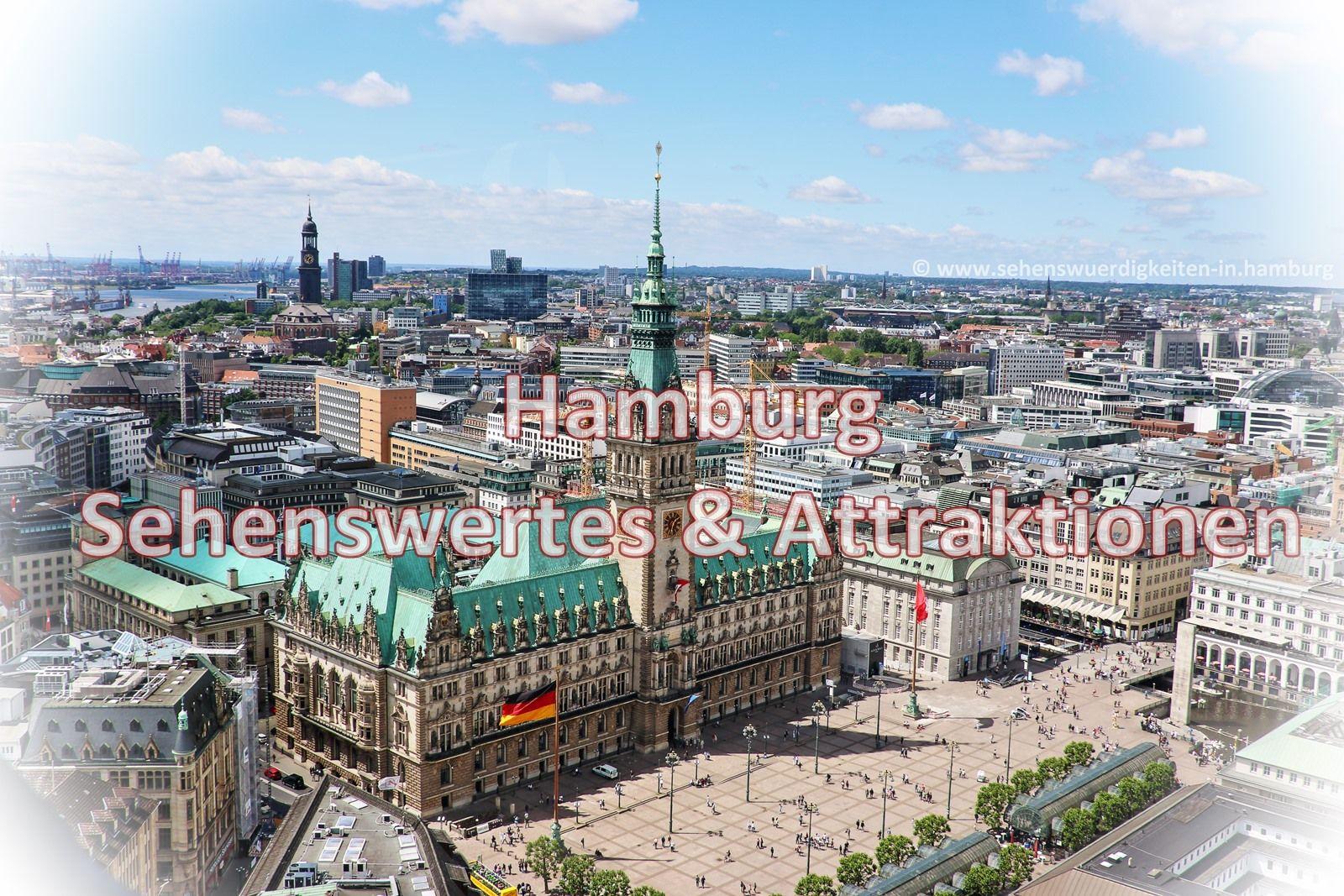 Hamburg Sehenswurdigkeiten Ein Blick Von Oben Auf Die Hansestadt