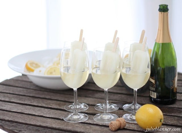 Signature Cocktail | Champagne Popsicles | Julie Blanner