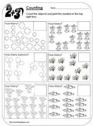 Worksheetplace Com Lots Of Free Worksheets Counting Objects