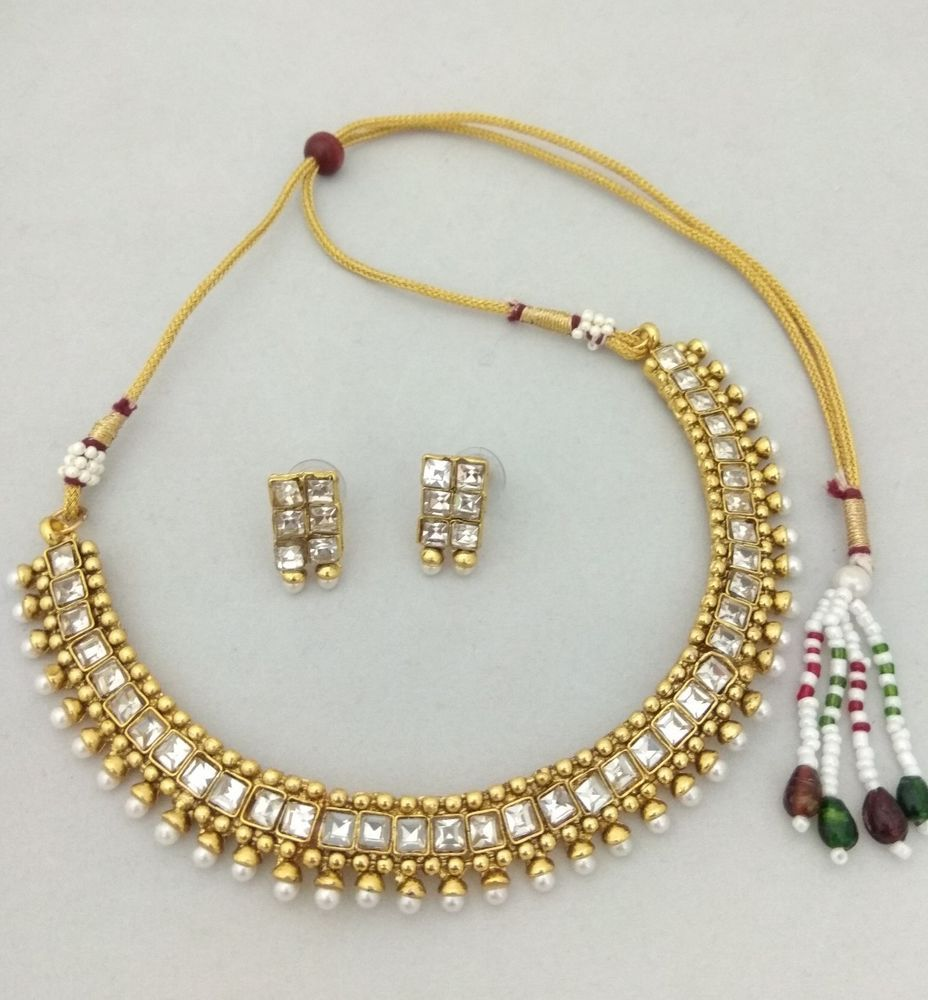 Bollywood Indian Ethnic Party wear traditional choker necklace ...