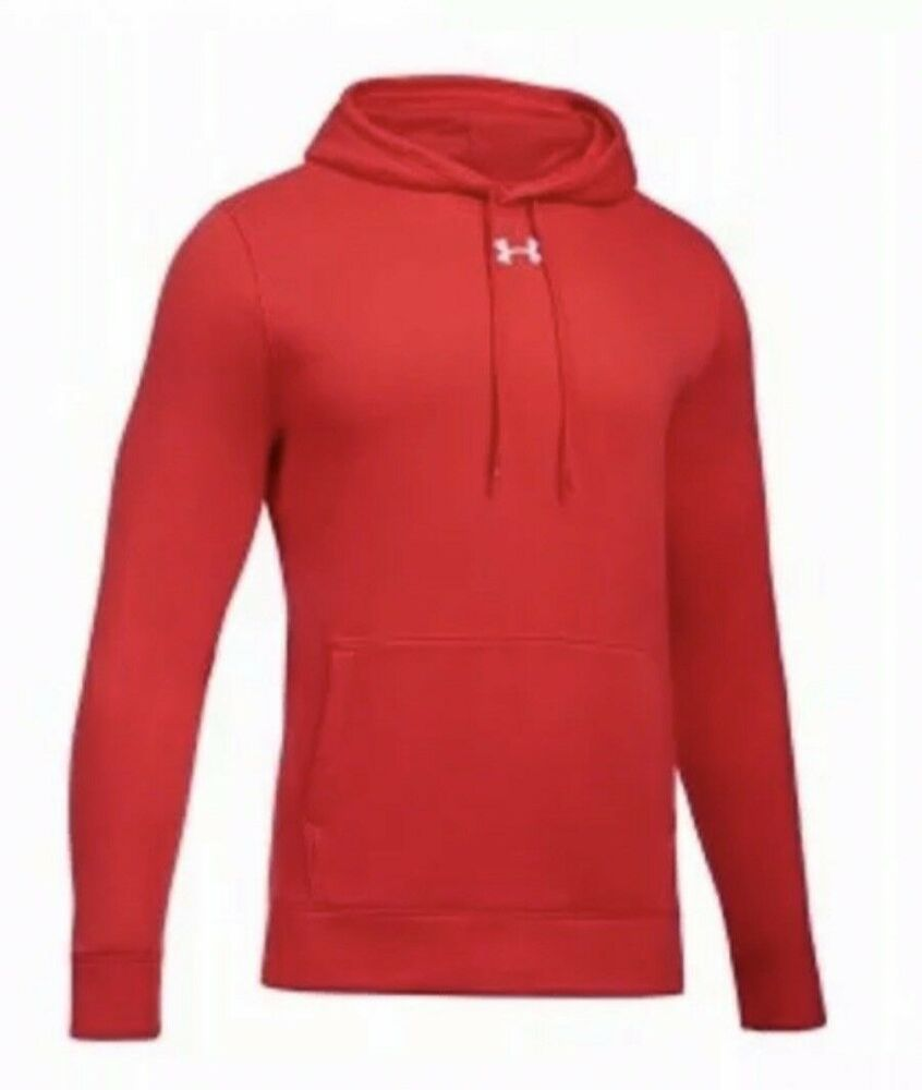 NEW Under Armour Red Loose Mens Hoodie Sweatshirt Size Large ColdGear brand new