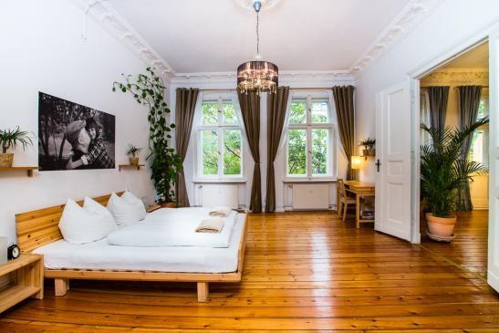 Gardinen Berlin wunderschönes altbauschlafzimmer in berlin mitte holzfußboden das