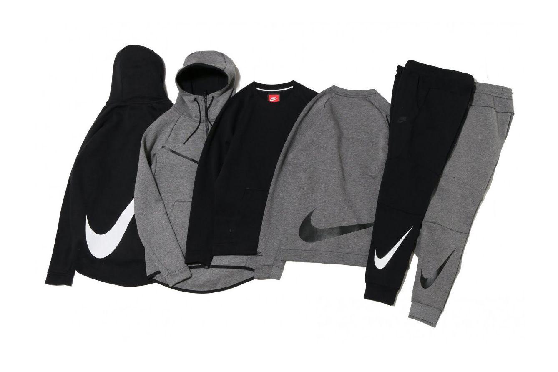 Nike Tech Fleece Big Swoosh Collection Solidifies Your Loyalty This Season Urban Wear Urban Outfits Street Wear
