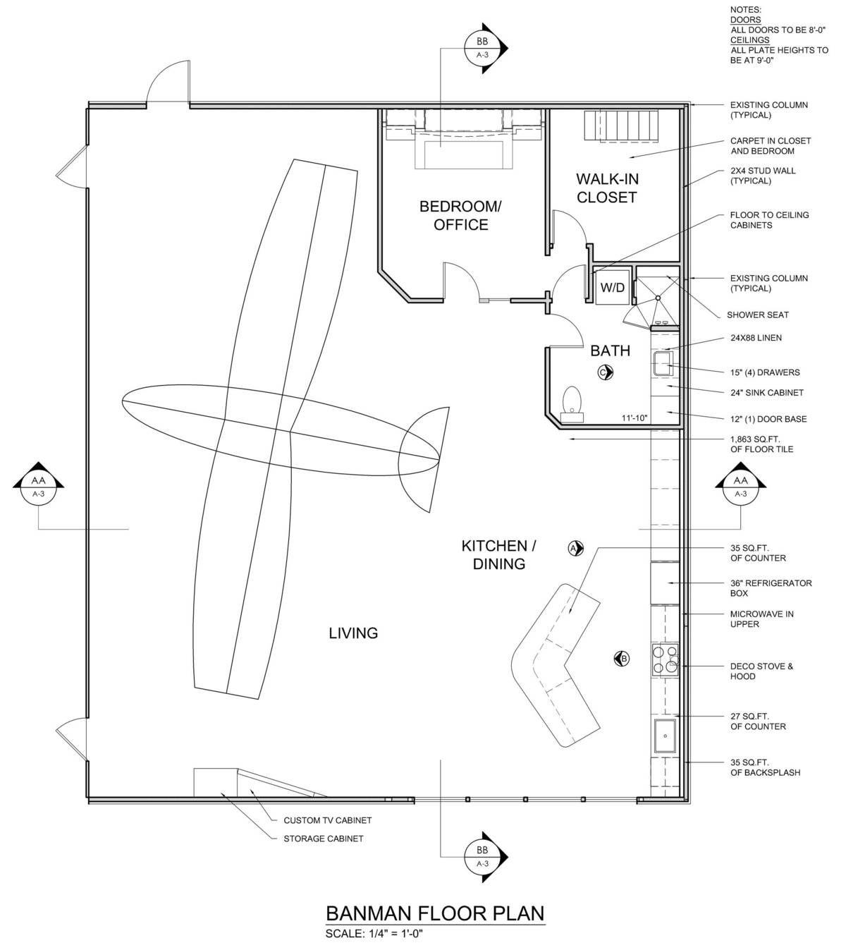 Banman Live-Work Airplane Hangar   James McGarry   Archinect ...