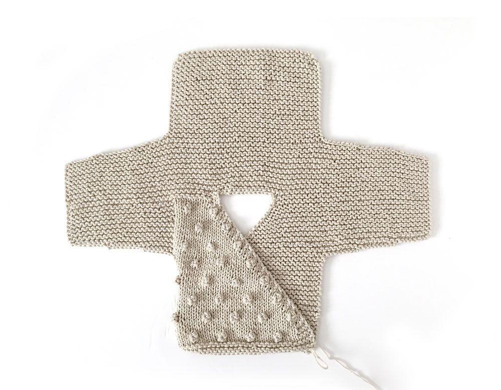Kimono de Punto para Bebé [ Tutorial y Patrón GRATIS ]   crochet ...