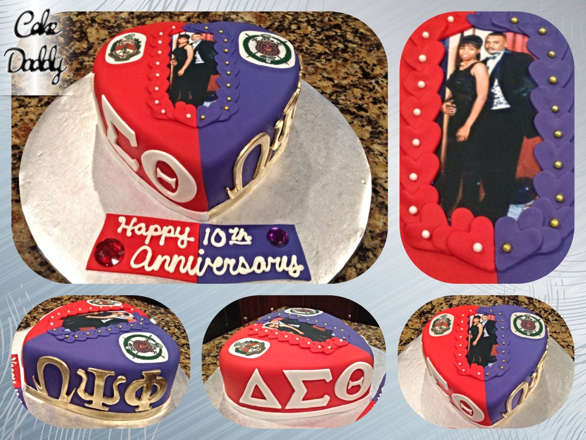 Delta que dog anniversary cake custom cakes by cake daddy delta que dog anniversary cake buycottarizona Image collections